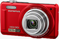 Olympus' VR-330 digital camera. Photo provided by OLYMPUS Europa Holding GmbH.