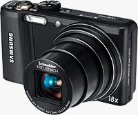 Samsung's WB750 digital camera. Photo provided by Samsung Electronics Co. Ltd.