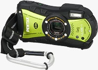 Pentax's Optio WG-1 GPS digital camera. Photo provided by Pentax Imaging Co.