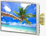 The �WhiteMagic�� LCD module featuring the newly-developed �RGBW method. Photo and caption provided by Sony Corp.