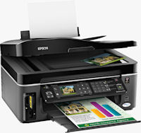 Epson's Workforce 610 all-in-one. Photo provided by Epson America Inc.