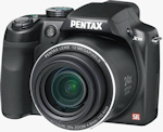 Pentax's X70 digital camera. Photo provided by Pentax Imaging Co.