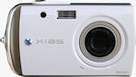 Norcent's XIAS DCS-860 digital camera. Courtesy of Norcent, with modifications by Michael R. Tomkins.