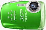 Fujifilm's FinePix XP10 digital camera. Photo provided by Fujifilm North America Corp.