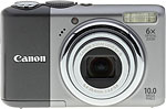 Canon PowerShot A2000 IS digital camera. Copyright © 2008, The Imaging Resource. All rights reserved.