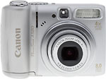 Canon PowerShot A580 digital camera. Copyright © 2008, The Imaging Resource. All rights reserved.