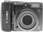 Canon PowerShot A590 IS digital camera. Copyright © 2008, The Imaging Resource. All rights reserved.