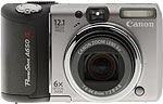 Canon PowerShot A650 IS digital camera. Copyright © 2008, The Imaging Resource. All rights reserved.