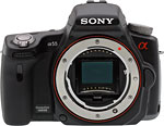 Sony Alpha SLT-A55V digital SLT.  Copyright © 2010, The Imaging Resource. All rights reserved.