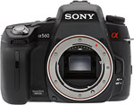 Sony Alpha DSLR-A560 digital SLR.  Copyright © 2010, The Imaging Resource. All rights reserved.