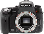 Sony Alpha DSLR-A580 digital SLR camera. Copyright © 2011, The Imaging Resource. All rights reserved.