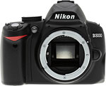 Nikon D3000 digital SLR. Copyright © 2009, The Imaging Resource. All rights reserved.