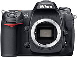 Nikon D300s digital SLR. Courtesy of Nikon USA, with modifications by Zig Weidelich.