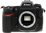 Nikon D300 digital SLR camera. Copyright © 2007, The Imaging Resource. All rights reserved.