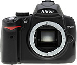 NIkon D5000 digital SLR.  Copyright © 2009, The Imaging Resource. All rights reserved.