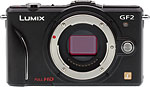Panasonic Lumix DMC-GF2 digital camera. Copyright © 2010, The Imaging Resource. All rights reserved.