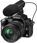 Panasonic Lumix DMC-GH1 digital camera.