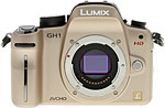 Panasonic Lumix DMC-GH1 digital camera. Copyright © 2009, The Imaging Resource. All rights reserved.