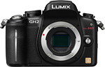 Panasonic Lumix DMC-GH2 digital camera. Image courtesy of Panasonic USA.