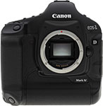 Canon EOS-1D Mark IV digital SLR camera. Copyright © 2010, The Imaging Resource. All rights reserved.
