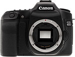 Canon EOS 40D SLR. Copyright © 2008, The Imaging Resource. All rights reserved.