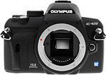 Olympus E-420 digital SLR. Copyright © 2008, The Imaging Resource. All rights reserved.