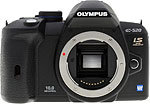 Olympus E-520 digital SLR camera.  Copyright © 2009, The Imaging Resource. All rights reserved.