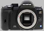 Olympus E-520 digital SLR. Copyright © 2009, The Imaging Resource. All rights reserved.