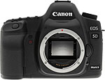 Canon EOS 5D Mark II digital SLR. Copyright © 2009 The Imaging Resource. All rights reserved.