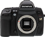 Olympus E-5 digital SLR camera. Copyright © 2010, The Imaging Resource. All rights reserved.