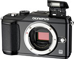 Olympus PEN E-PL2 digital camera. Photo provided by Olympus Imaging America Inc.