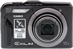 Casio Exilim EX-H20G digital camera. Copyright © 2011,The Imaging Resource. All rights reserved.