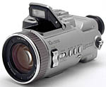 Sony's Cyber-shot DSC-F707 digital camera. Copyright (c) 2001, The Imaging Resource. All rights reserved.