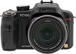 Panasonic Lumix DMC-FZ100 digital camera. Copyright © 2010, The Imaging Resource. All rights reserved.