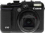 Canon PowerShot G10 digital camera.  Copyright © 2009, The Imaging Resource. All rights reserved.