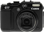Canon PowerShot G11 digital camera.  Copyright © 2009, The Imaging Resource. All rights reserved.