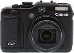 Canon PowerShot G12 digital camera. Copyright © 2010, The Imaging Resource. All rights reserved.