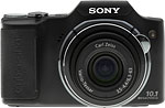 Sony Cyber-shot DSC-H20 digital camera. Copyright © 2009, The Imaging Resource. All rights reserved.