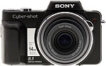Sony Cyber-shot DSC-H3 digital camera. Copyright © 2007, The Imaging Resource. All rights reserved.