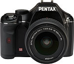 Pentax K2000 digital SLR camera. Courtesy of Pentax, with modifications by Zig Weidelich.