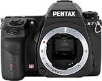 Pentax K-7 digital SLR camera.