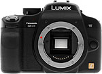 Panasonic Lumix DMC-L10 digital SLR camera. Copyright © 2007, The Imaging Resource. All rights reserved.