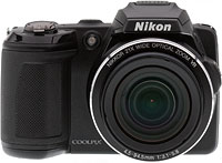Nikon Coolpix L120 digital camera.  Copyright © 2011, The Imaging Resource. All rights reserved.