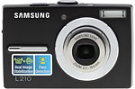 Samsung L210 digital camera. Copyright © 2008, The Imaging Resource. All rights reserved.