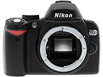 Nikon D60 digital SLR. Copyright © 2008, The Imaging Resource. All rights reserved.