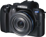 Samsung NX digital camera.