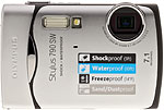 Olympus Stylus 790 SW digital camera. Copyright © 2008, The Imaging Resource. All rights reserved.