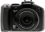 Canon PowerShot S5 IS digital camera. Copyright © 2007, The Imaging Resource. All rights reserved.