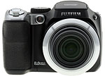 Fujifilm FinePix S8000fd digital camera. Copyright © 2007, The Imaging Resource. All rights reserved.
