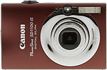 Canon PowerShot SD1100 IS digital camera. Copyright © 2008, The Imaging Resource. All rights reserved.
